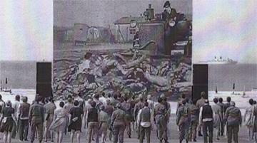 Spectacle de la Cérémonie Internationale Officielle de commémoration du Débarquement du 6 juin 1944.